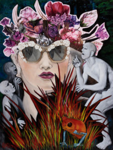 Kirsten Nash Hear No Evil 2017 36x48 web
