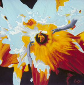 Kirsten Nash The Universe as a Daffodil small